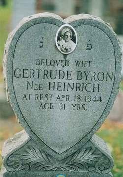 Gertrude <i>Heinrich</i> Byron