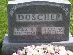Ella Nora <i>Gruber</i> Doscher