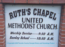 Ruths Chapel United Methodist Church Cemetery