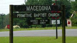 Macedonia Primitive Baptist Cemetery