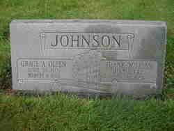 Grace A. <i>Olsen</i> Johnson
