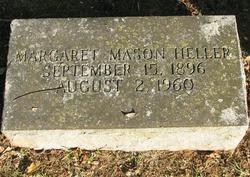 Margaret (Maggie) <i>Mason</i> Heller