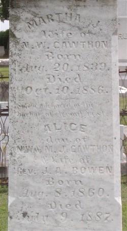 Alice <i>Cawthon</i> Bowen