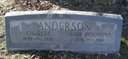 Marie <i>Broughton</i> Anderson