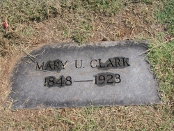 Mary Unit <i>Watts</i> Clark