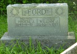 Phoebe Jane <i>Rumley</i> Ford