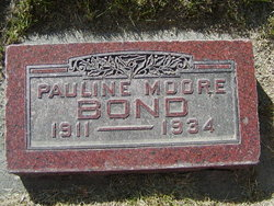 Pauline <i>Moore</i> Bond