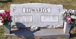Hattie Carol <i>Lambert</i> Edwards