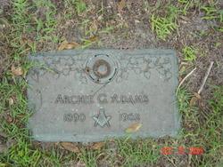 Archie G Adams
