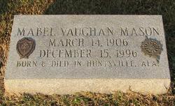 Mabel <i>Vaughan</i> Mason