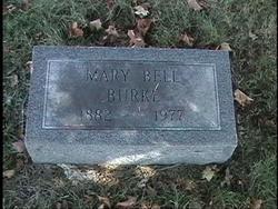 Mary Bell <i>Haley</i> Burke