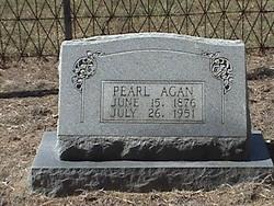 Pearl <i>Hunnicutt</i> Agan
