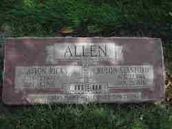 Afton <i>Ricks</i> Allen