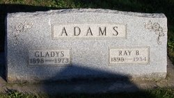 Gladys <i>Saylor</i> Adams