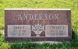 Jane Christine <i>Crowther</i> Anderson