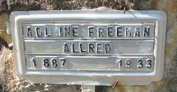 Adline <i>Freeman</i> Allred