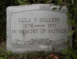 Lula F <i>Hudson?</i> Oglesby