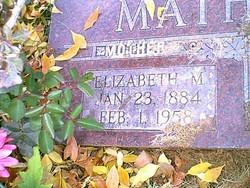 Elizabeth <i>Mickelson</i> Matheson