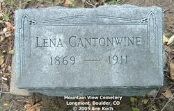 Lena <i>Lang</i> Cantonwine