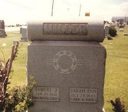 Sarah Ann <i>Livingston</i> Miller