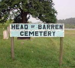 Head Of Barren Cemetery