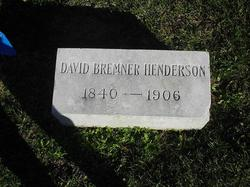 David Bremner Henderson