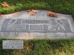 Josephine Elnora Jo <i>Tague</i> Allstrom