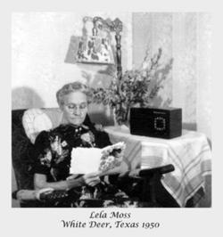 Eulela Jane Lela <i>Palmer</i> Moss