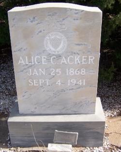 Alice C Acker