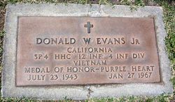 Spec Donald Ward Evans, Jr