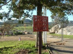 Mission Santa Ysabel Cemetery