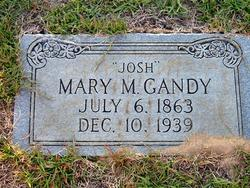 Mary A. Josh <i>McConnell</i> Gandy