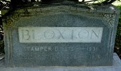 Elizabeth Grace <i>Vaughan</i> Bloxton