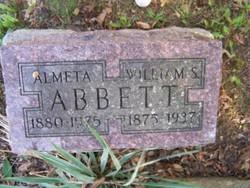 Almeta <i>Bledsoe</i> Abbett