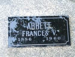 Frances Virginia <i>Freeman</i> Abbett