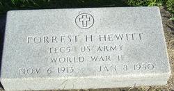 Forrest H Hewitt