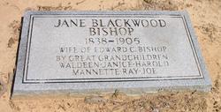 Jane <i>Blackwood</i> Bishop