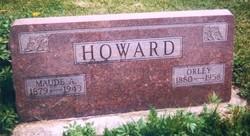 Maude Alice <i>Oswalt</i> Howard