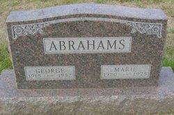Marie <i>Carmichael</i> Abrahams
