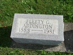 Fleety G. <i>Bolinger</i> Addington