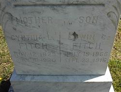 Cynthia Ann <i>Longmore</i> Fitch