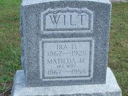 Matilda M. Wilt