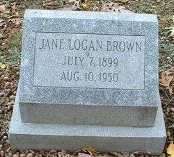 Jane <i>Logan</i> Brown
