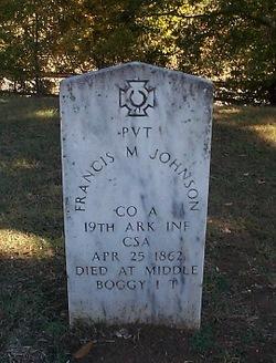 Pvt Francis M. Johnson