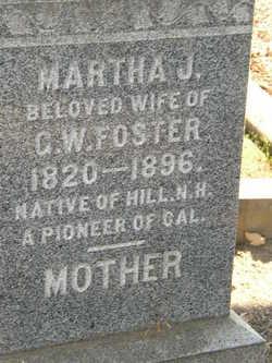 Martha Jane <i>Sawyer</i> Foster