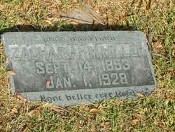 Zachariah McAllister Miller