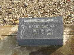 Harry Cabbage