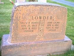 John Logan Lowder