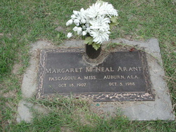 Margaret <i>McNeal</i> Arant