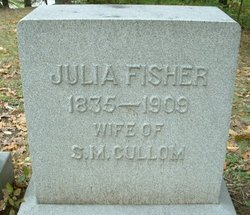 Julia <i>Fisher</i> Cullom